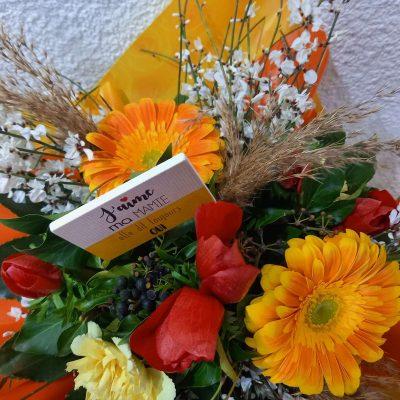 Bouquet rond mamie dit OUI (2)